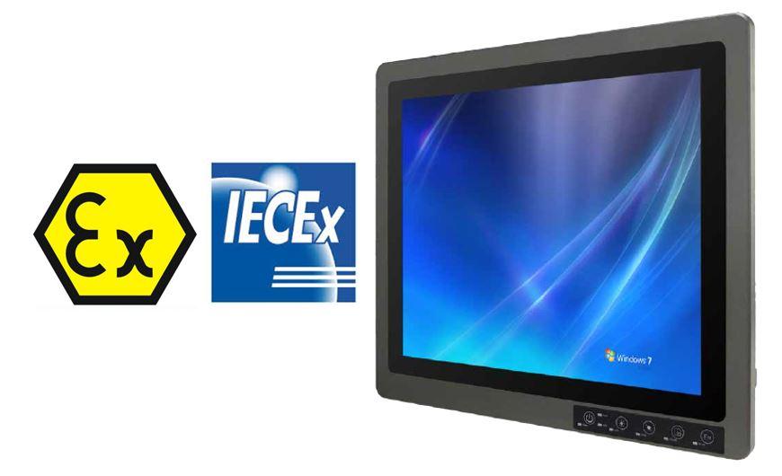 HazLoc Panel PC. Class1, Division2 & ATEX Zone 2